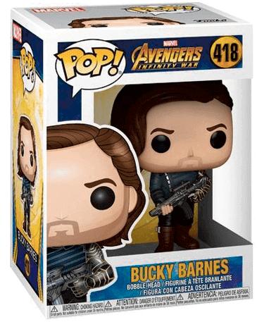 Bucky Barnes med våben - Infinity War - Winter Soldier