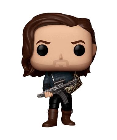Bucky Barnes med våben - Infinity War