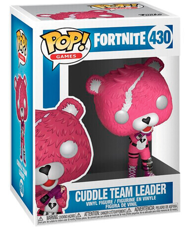 Cuddle Team Leader Funko Pop figur - Fortnite - i kasse
