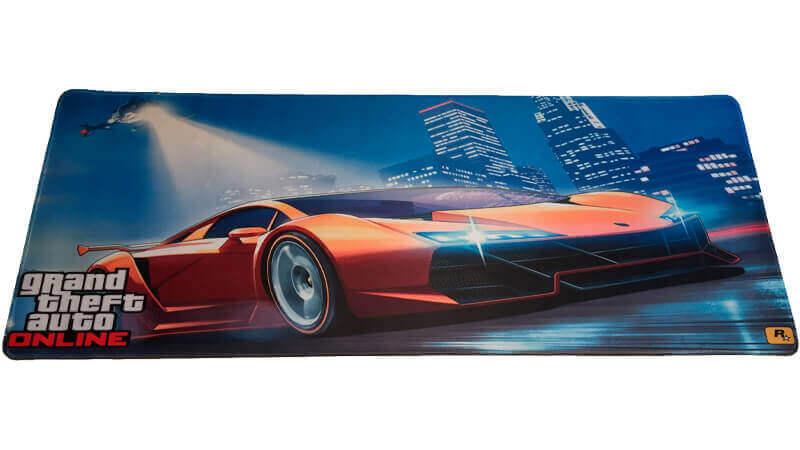 GTA Gamer Musemåtte - 30x80 cm - Grand Theft Auto