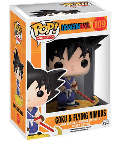 Goku & Nimbus Funko Pop Figur - DBZ