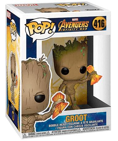 Groot w Stormbreaker Funko Pop Figur - Infinity War 1