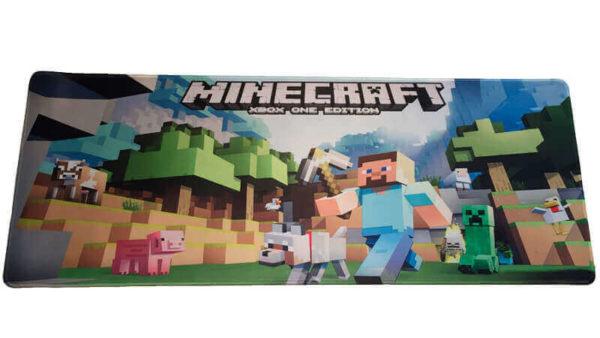 Minecraft Gamer Musemåtte - 30x80 cm
