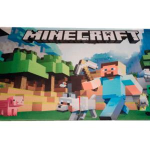 Minecraft musemåtte 30x80 cm - Stor