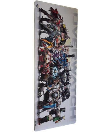 Overwatch Gamer Musemåtte - 30x80 cm - Blizzard
