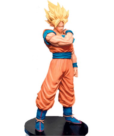 Son Goku Figur - 18cm - Resolution Of Soldiers - detaljeret