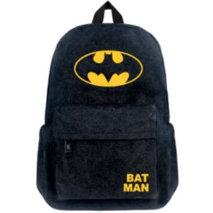 Batman Skoletaske - Rygsæk - Sort