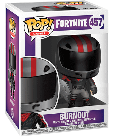 Burnout Funko Pop Figur – Fortnite - I kasse