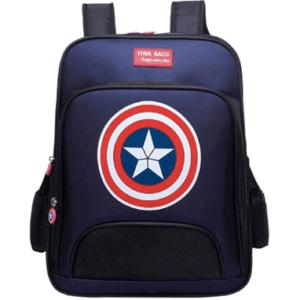 Captain America skoletaske til børn - Marvel