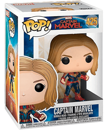 Captain Marvel Funko Pop Figur - Marvel - I kasse