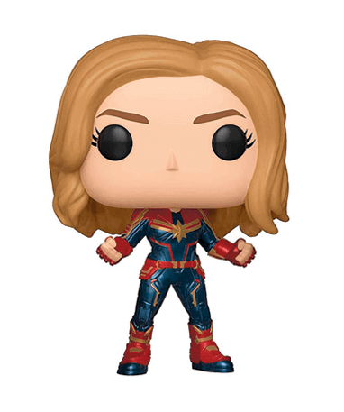 Image of   Captain Marvel Funko Pop Figur - Marvel