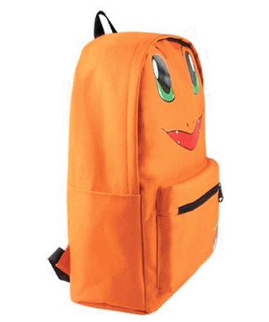 Charmander Skoletaske - Rygsæk - Pokemon Go - Fra siden