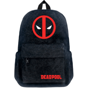 Deadpool Skoletaske - Sort