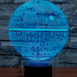 Death Star 3D Lampe - Star Wars