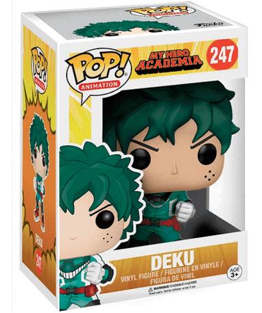 Deku Funko Pop figur 247 - Hero Academia - I kasse