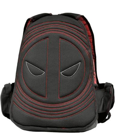 Detaljeret Deadpool Rygsæk - Bagfra detalje
