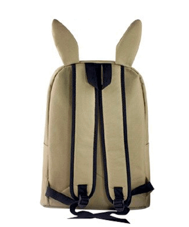 Eevee skoletaske - rygsæk - Pokemon GO - Bagfra