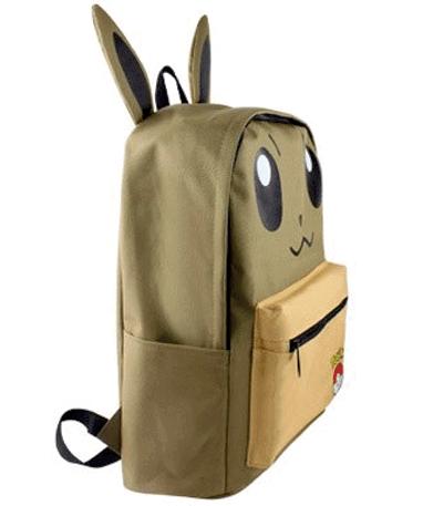 Eevee skoletaske - rygsæk - Pokemon GO - Fra siden