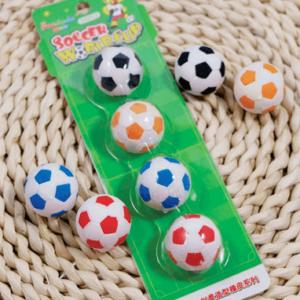 Farverig fodbolde af viskelædere