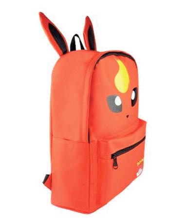 Flareon Skoletaske – Rygsæk – Pokemon GO - Fra siden