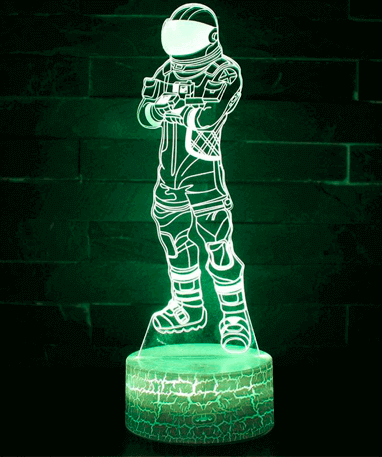 Fortnite Moonwalker 3D Lampe