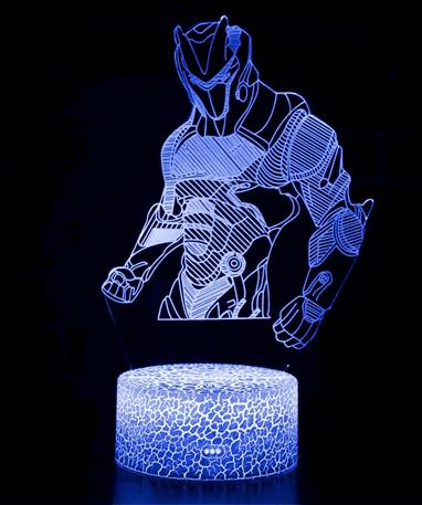 Fortnite Omega 3D Lampe