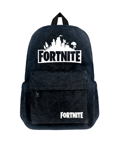 Fortnite Skoletaske - Rygsæk - i Sort