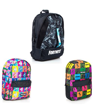 Fortnite skoletasker - 3 forskellige