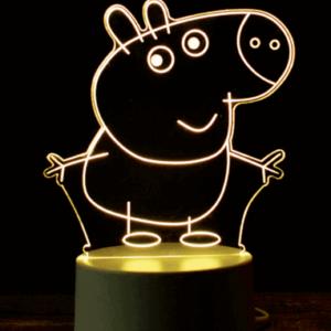 Gurli Gris Lampe 3D