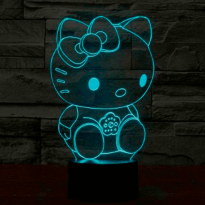 Hello Kitty 3D Lampe