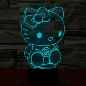 Hello Kitty 3D Lampe