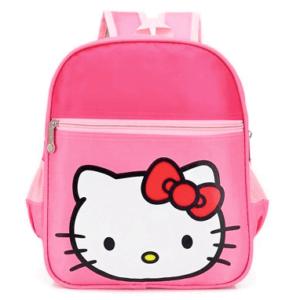 Hello Kitty Skoletaske til børn
