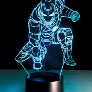 Iron Man 3D Lampe - Marvel