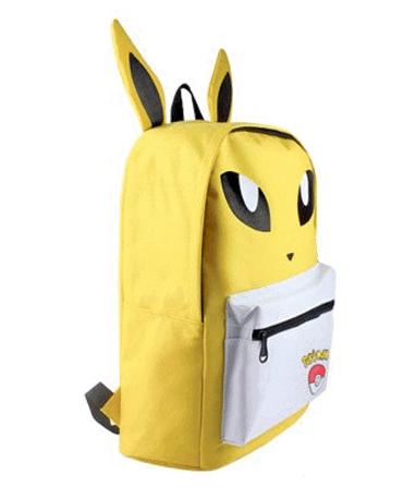 Jolteon Skoletaske - Rygsæk - Pokémon GO - Fra Siden