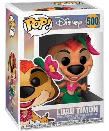 Luau Timon Funko Pop Figur - Løvernes Konge - I kasse
