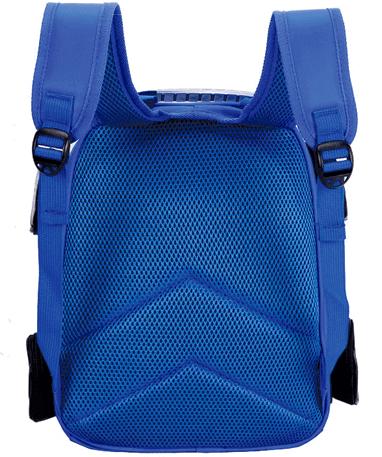 Lynet McQueen Skoletaske - Biler - Blå bagfra
