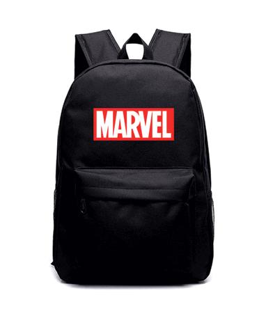 Marvel Skoletaske Rygsæk - Sort