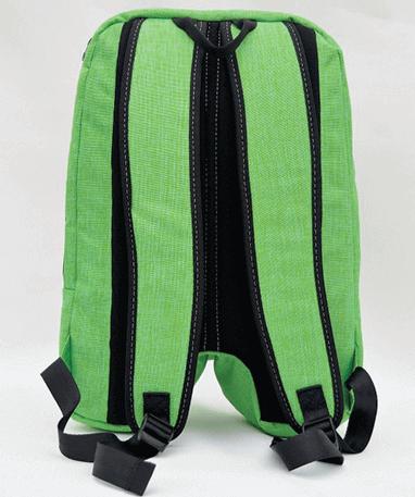 Minecraft skoletaske - Rygsæk - Bagfra