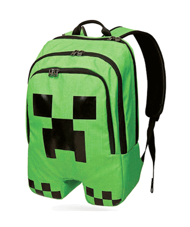 Minecraft skoletaske - Rygsæk