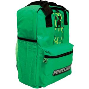 Minecraft skoletaske til børn - Creeper
