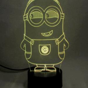 Minions 3D Lampe - Despicable Me lampe