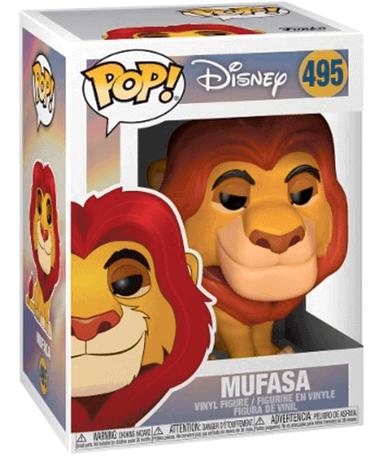 Mufasa Funko Pop Figur - Løvernes Konge - I kasse