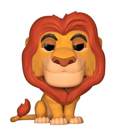Velsete Mufasa Funko Pop Figur - Løvernes Konge - 1-2 dages fragt til 29,- CZ-92