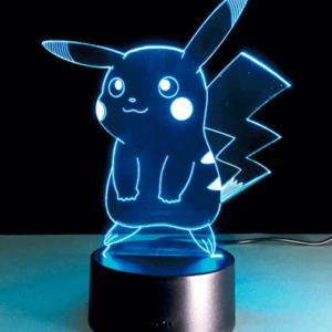 Pikachu 3D Lampe - Pokemon Go