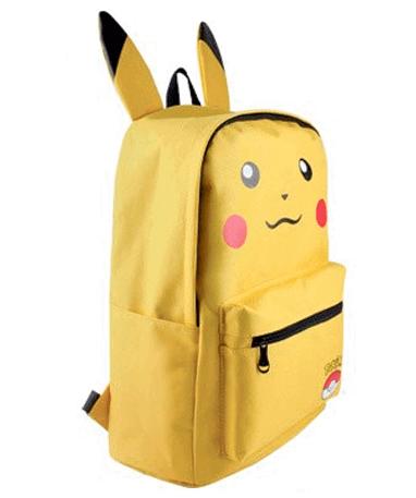 Pikachu Skoletasker - Rygsæk - Pokémon GO - fra siden