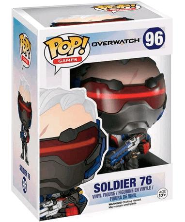 Soldier 76 Funko Pop figur - Overwatch - I kasse