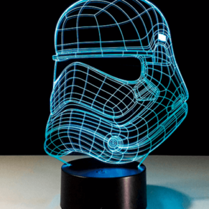Stormtrooper 3D Lampe - Star Wars