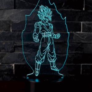 Super Saiyan 3D Lampe - Dragon Ball Z