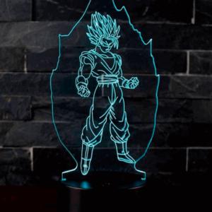 Super Saiyan 3D Lampe - Dragon Ball Z
