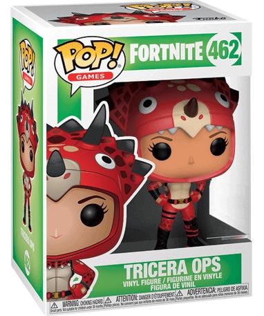 Tricera Ops Funko Pop Figur – Fortnite - i kasse